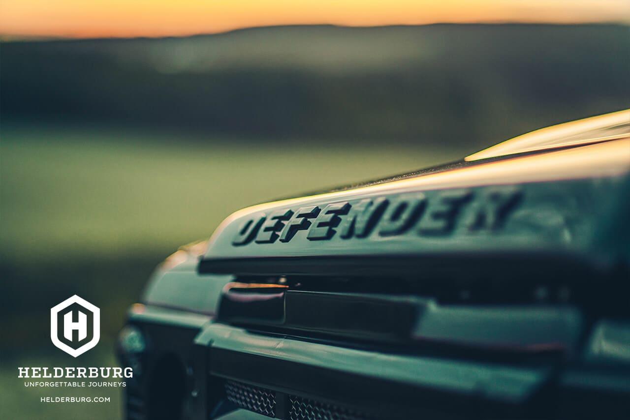 Land Rover Defender D110 Detail