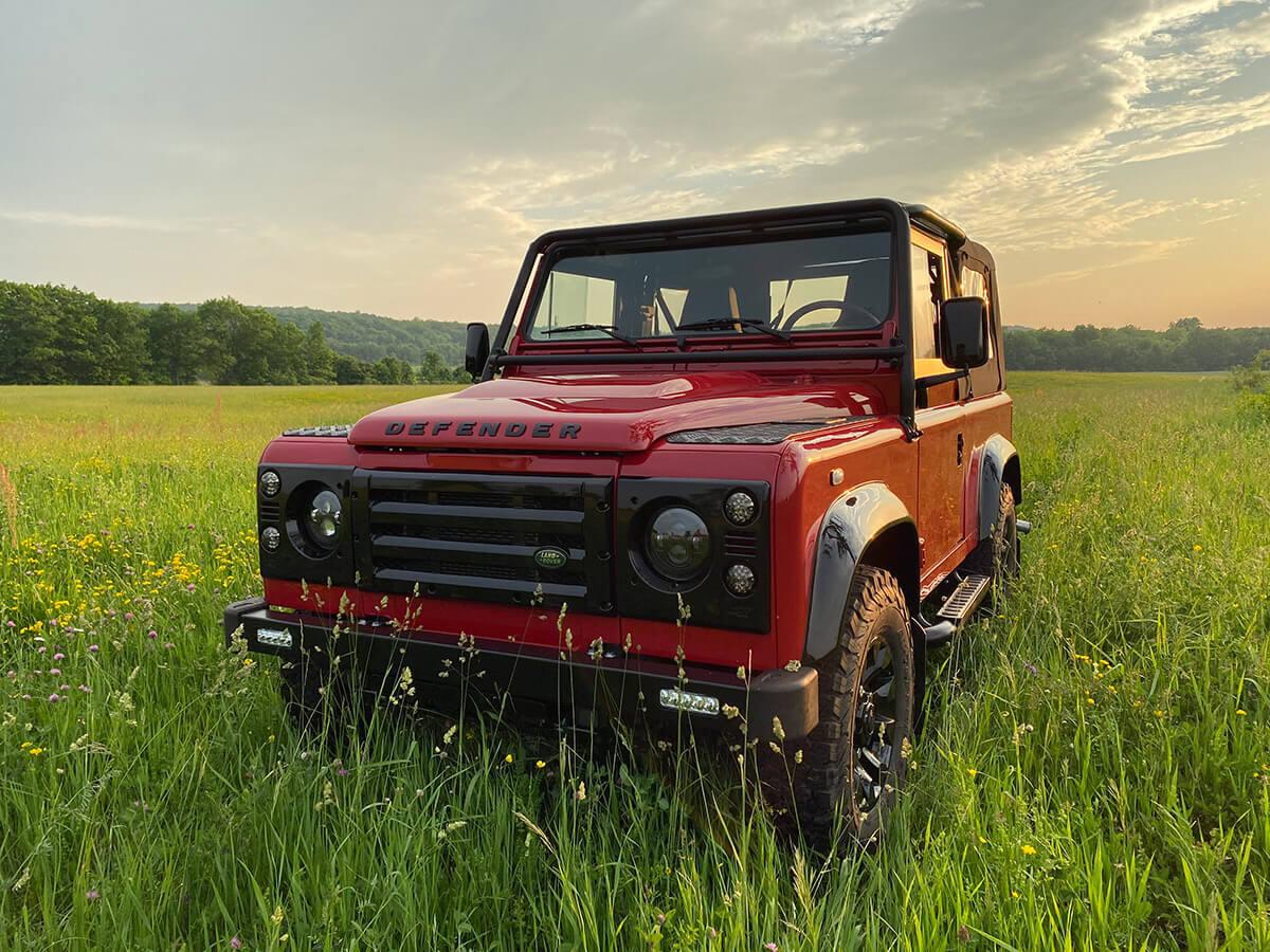 Land Rover Defender D90