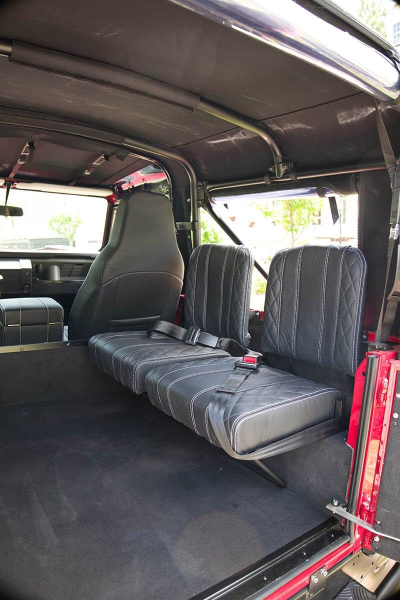 Land Rover Defender D90 Soft Top Interior