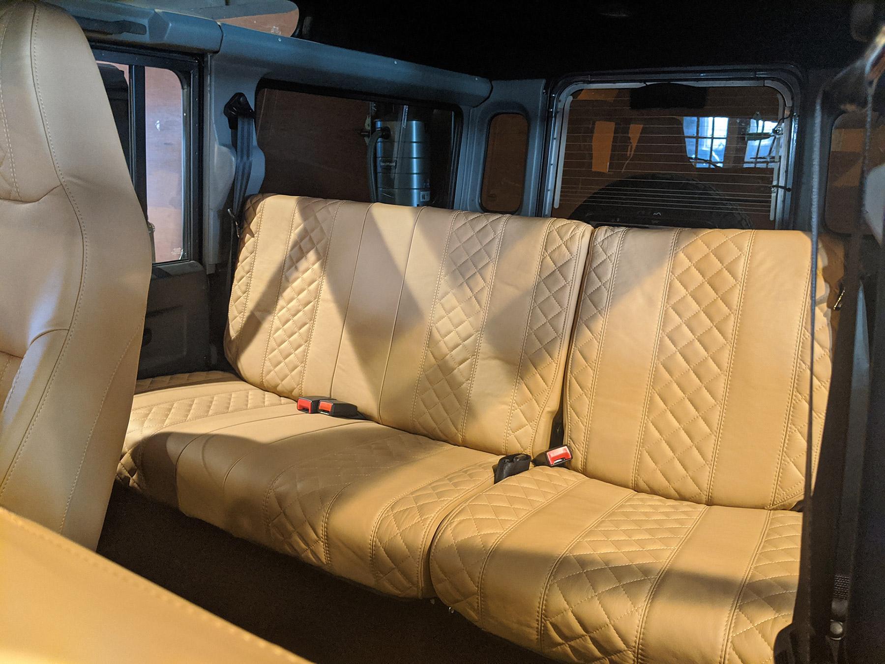 Land Rover Defender D110 Interior