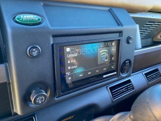 Land Rover Defender Interior