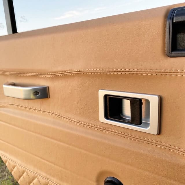 Land Rover Defender Interior Detail