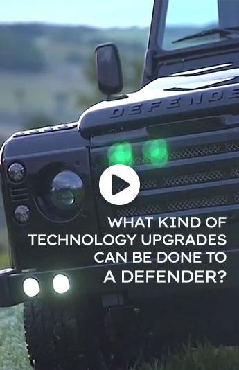 What Kind of Technology and Upgrades Can Be Done to a Defender?