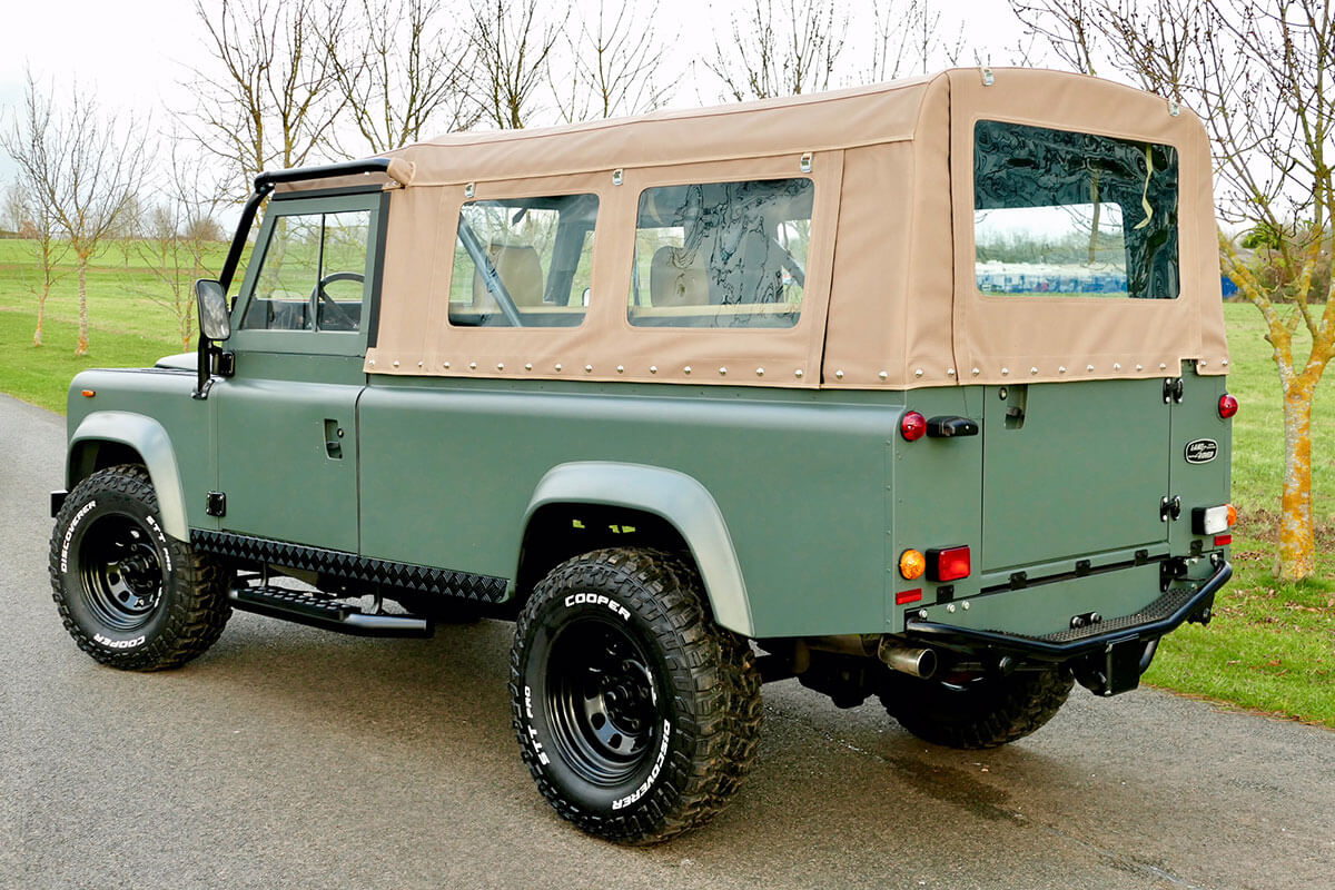 Land Rover Defender D110 3 Door Soft Top: Exterior, Exterior, Illustration Purposes Only