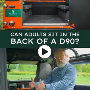 Can Adults sit in the Back of a D90?