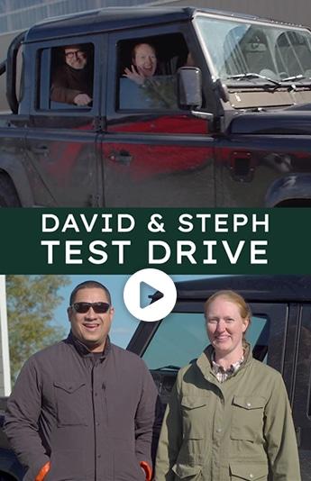 David and Stephanie Test Drive
