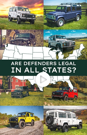 Are Defenders Legal in all states?
