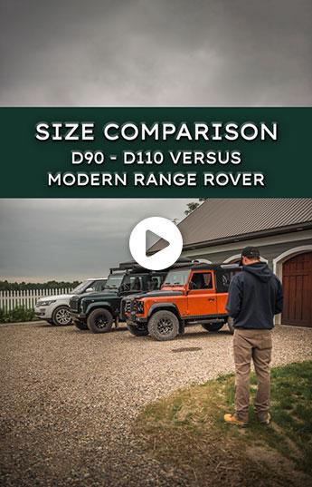 Defender Size Comparison