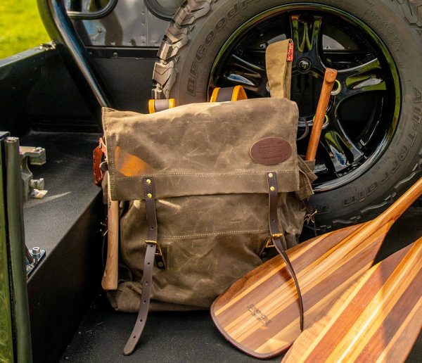 Timber Cruiser Jr. Pack In Defender D110 Double Cab Detail