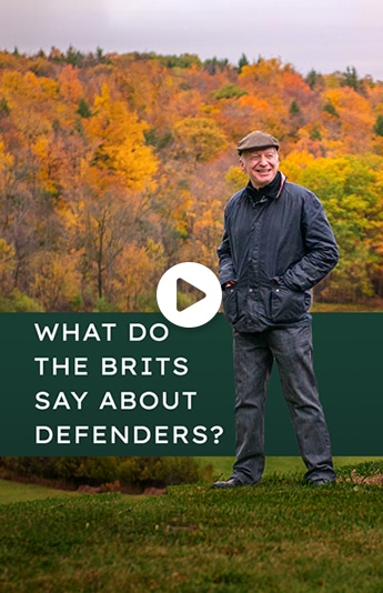 What Do the Brits Say About Defenders?