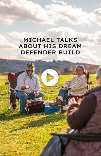 Michael Talks About His Dream Defender Build