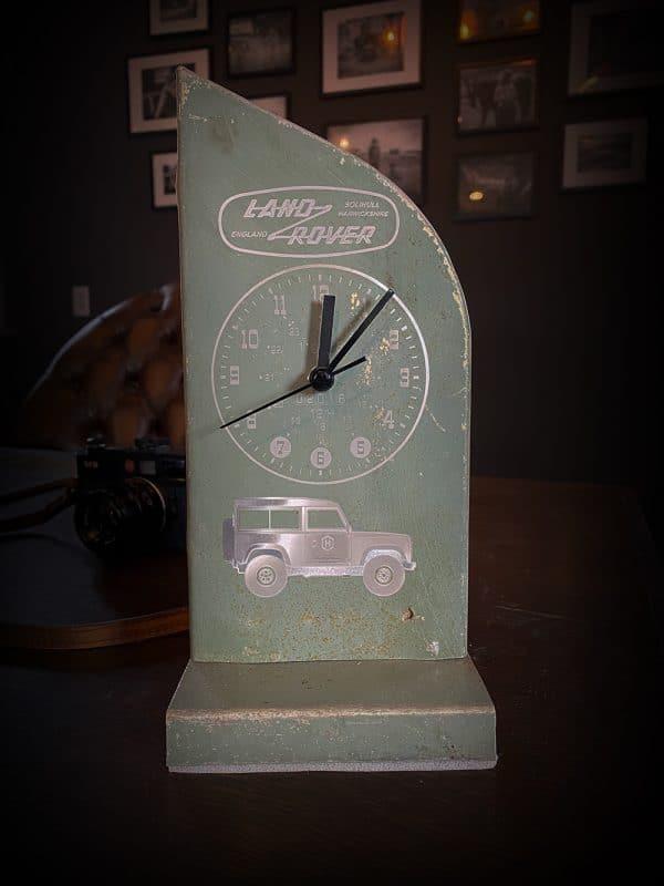 Land Rover Clock in Keswick Green