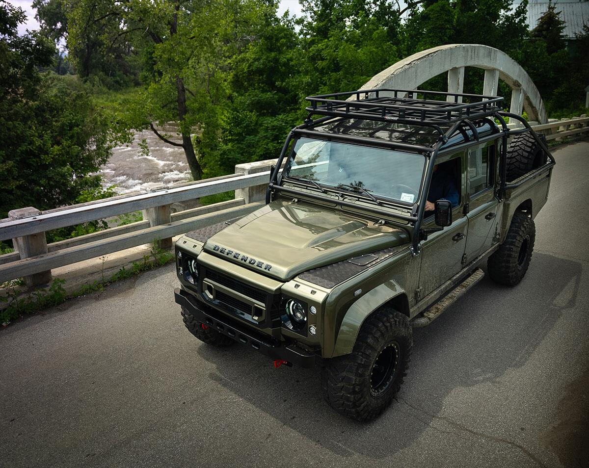 Land Rover Defender D130 Exterior