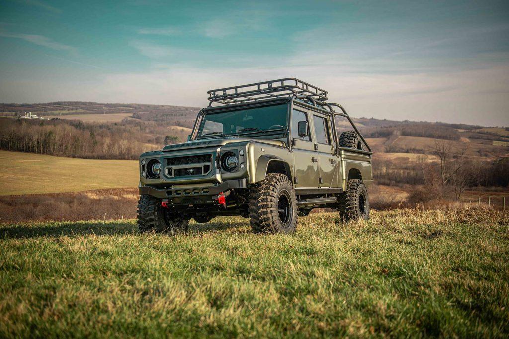 Land Rover Defender D130 Exterior: 3/4 View