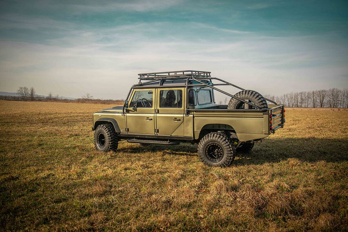 Land Rover Defender D130 Exterior: Side View