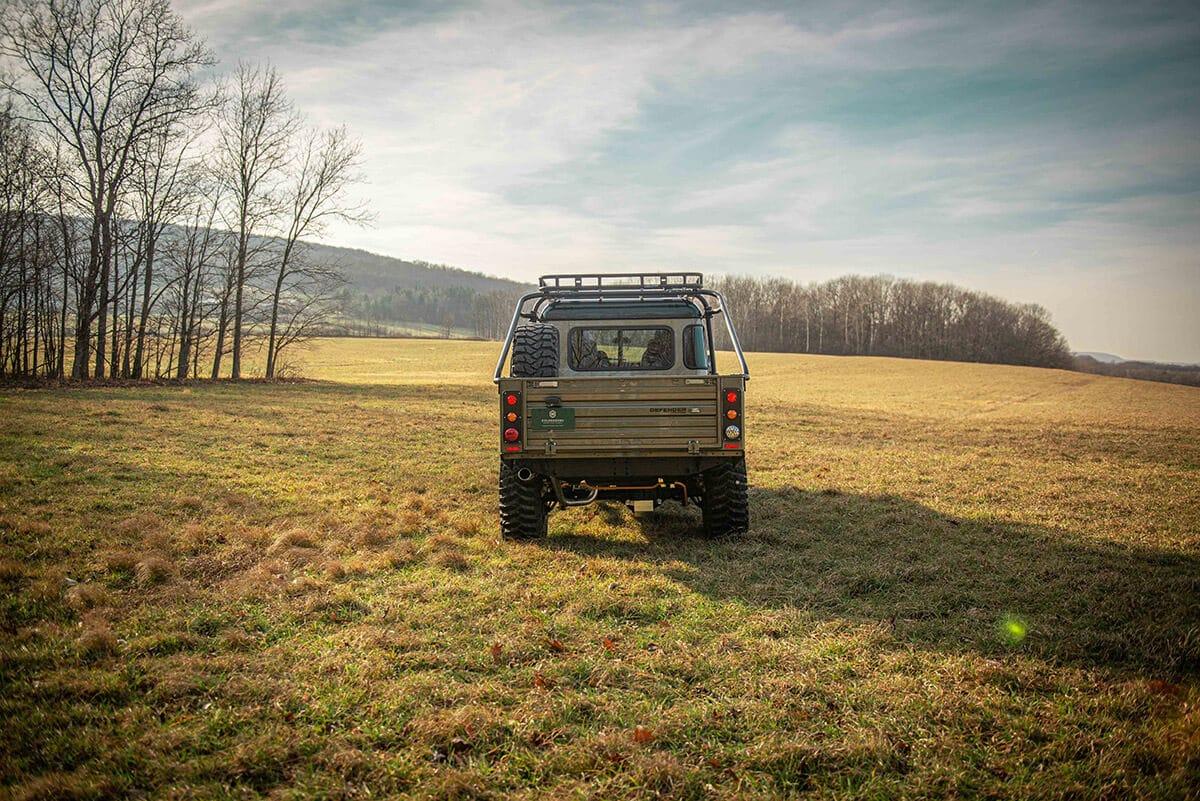 Land Rover Defender D130 Exterior: Rear View