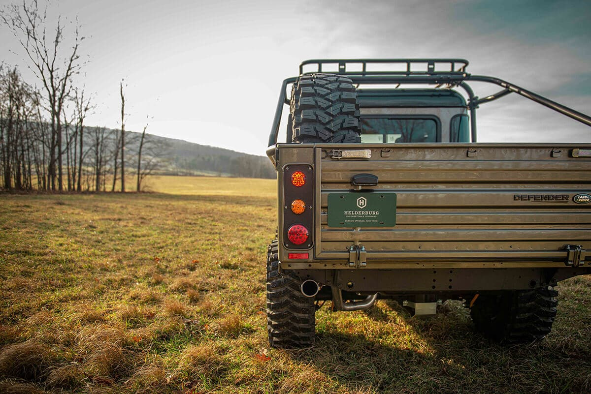 Land Rover Defender D130 Exterior: Tail Gate