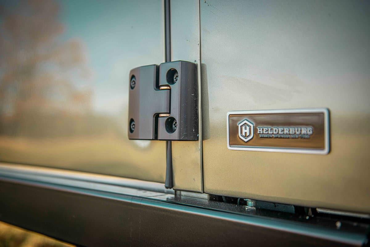 Land Rover Defender D130 Exterior: Door Hinge