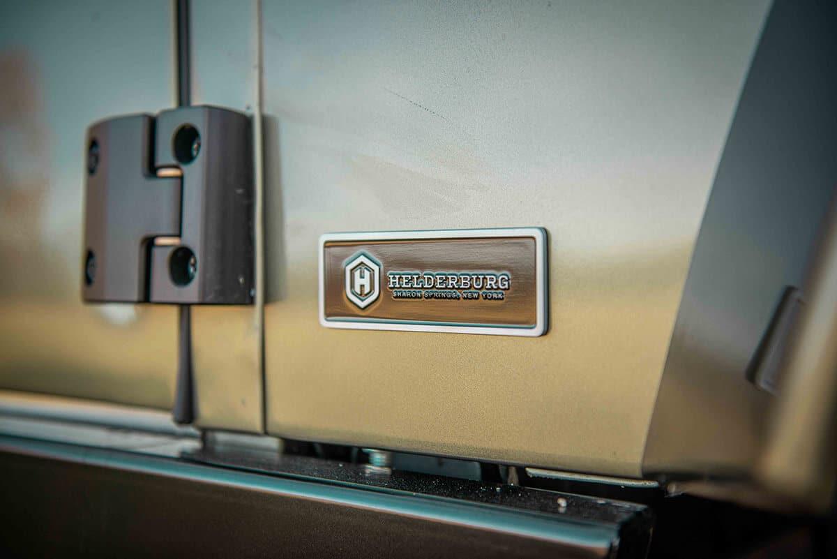Land Rover Defender D130 Exterior: Helderburg Insignia