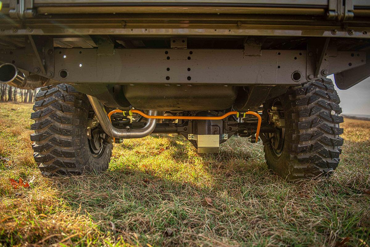 Land Rover Defender D130 Exterior: Under Carriage