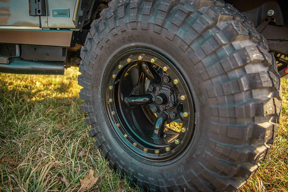 Land Rover Defender D130 Exterior: Wheel