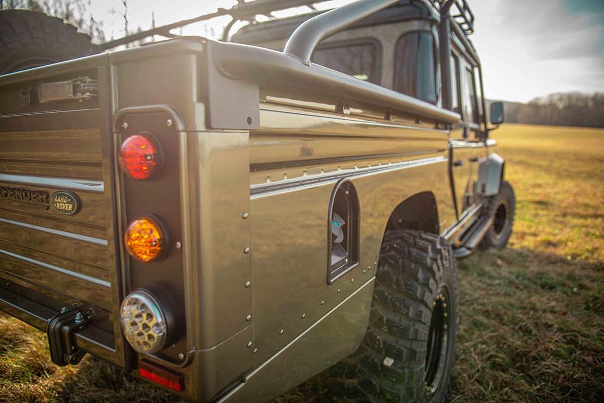 Land Rover Defender D130 Exterior: Tail Lights