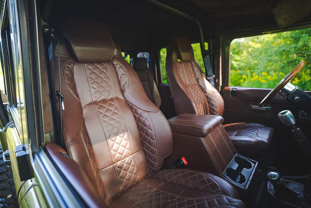 Land Rover Defender D130 Interior