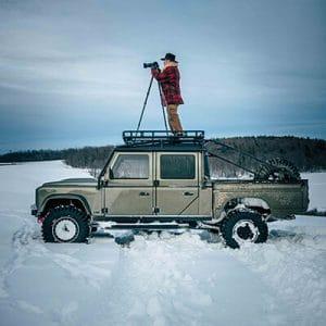 Hedeburg Defender Lifestyle in Winter
