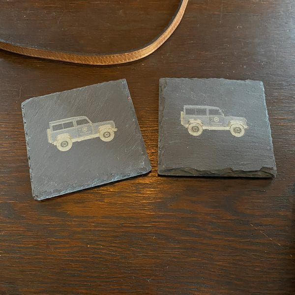 Slate Engraved Coasters