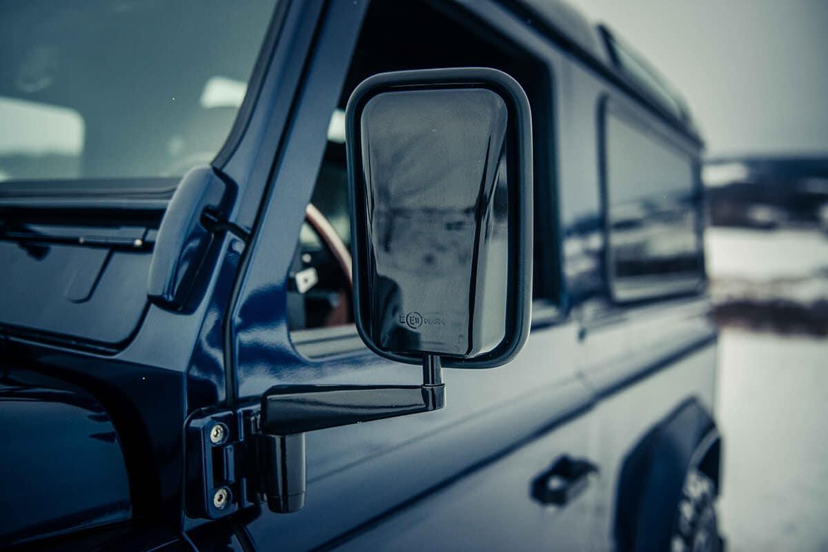 Land Rover Defender D90: Exterior Detail