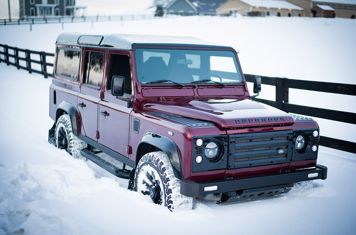 Driving a Defender is much like driving a Mercedes G Wagon or a Jeep except the Defender feels more stable. Send this image to a friend and tell them you want to visit the Helderburg Farm to see a Defender in person.