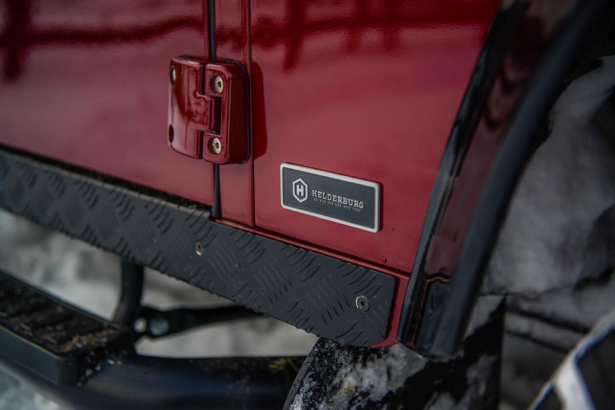 Land Rover Defender D110: Exterior Detail