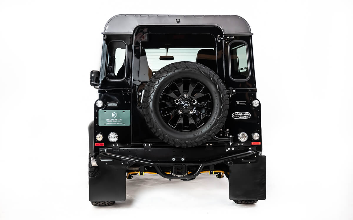 The Heldeburg Bespoke Defender process takes an average of 3,100 man hours to create.