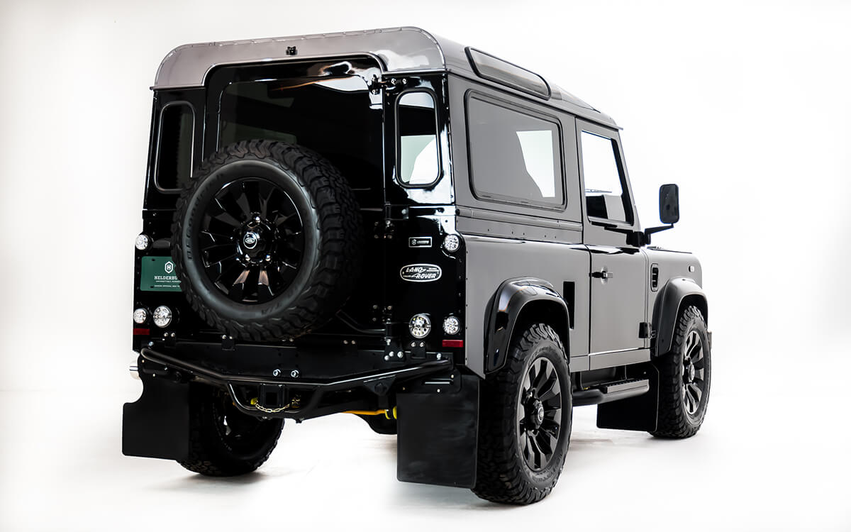 Helderburg Bespoke Defenders are not kits but started life as an original British Built Land Rover Defender...We just modernize them for today's needs.