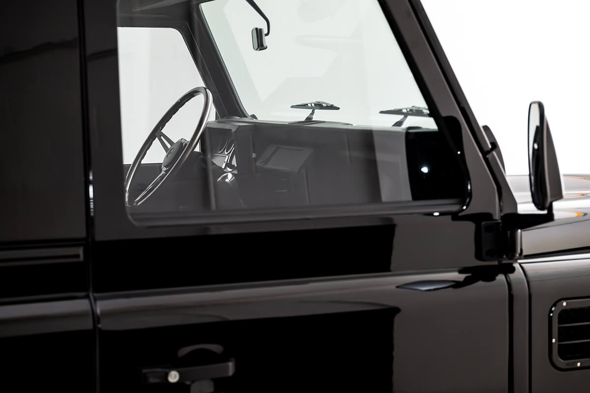 5mm Glass and thicker window track seals reduce cabin noise and improve cooling or heating inside cabin.
