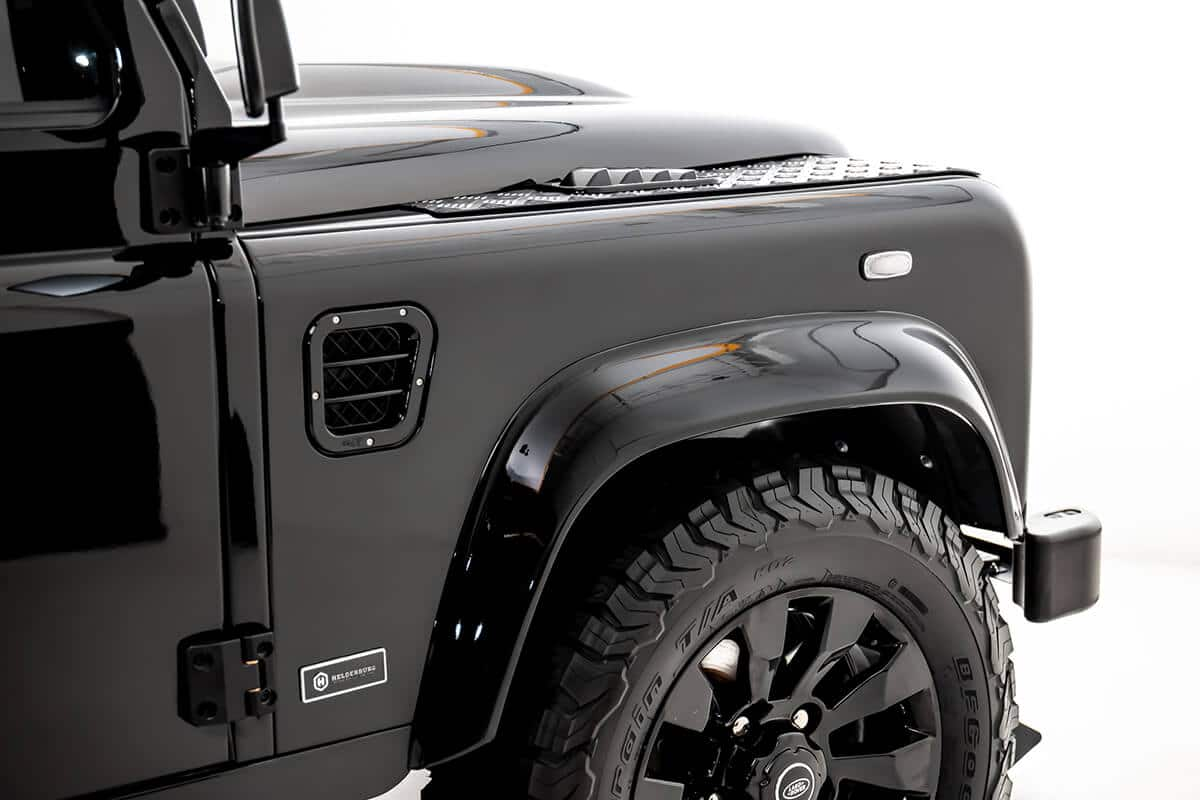 """18"""" BF Goodrich K02 Tires that have an off-road feel but handle well on-highway in the rain, heat. snow. They're a long lasting great wearing tire. Wheels are alloy sawtooth 18"""" with Land Rover Center Caps."""