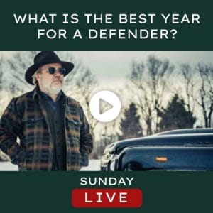 Helderburg Live – What's the Best Year for a Defender?