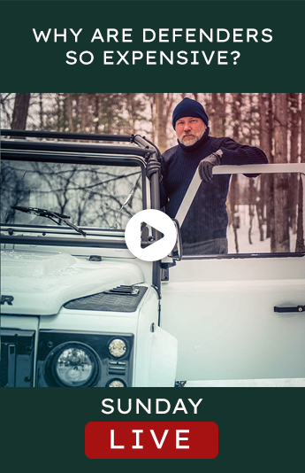 Helderburg Live – Why are Land Rover Defenders so Expensive?