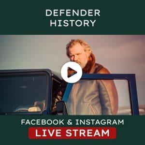 Helderburg Live – Talking about Defender History