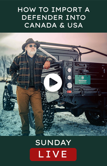 Helderburg Live – How to Import a Land Rover Defender USA and Canada
