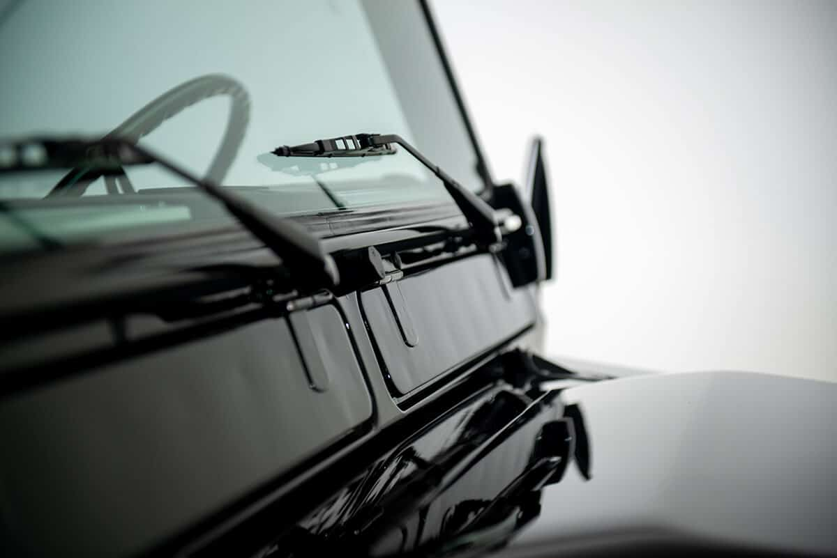 Performance Tuned Land Rover Defender D90: Exterior Detail View