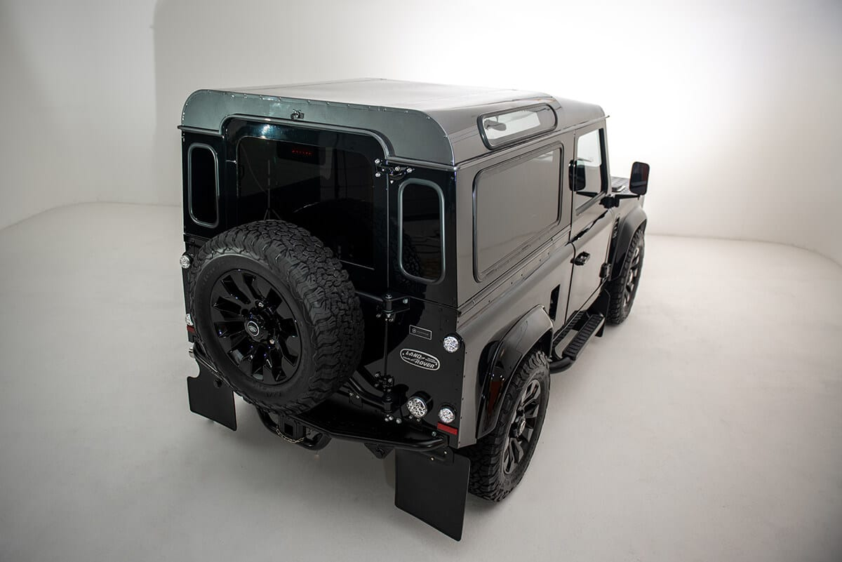 Performance Tuned Land Rover Defender D90: Exterior Rear View