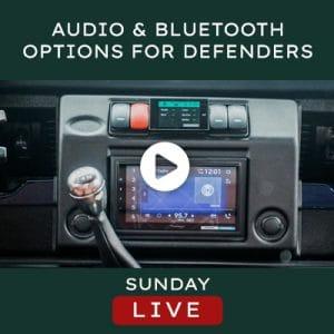 Helderburg Live – Audio & Bluetooth Options for Defenders