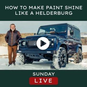 Helderburg Live – How To Make Paint Shine like a Helderburg