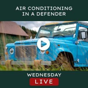 Helderburg Live – Air Conditioning in a Defender