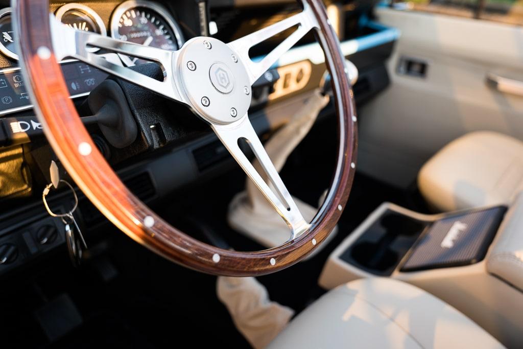 Helderburg Land Rover Defender D90 Interior Detail