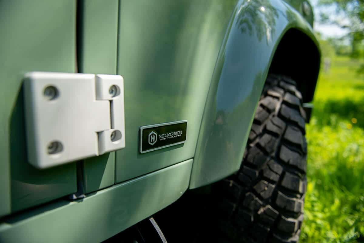 Helderburg D90 Soft Top Defender Exterior Detail