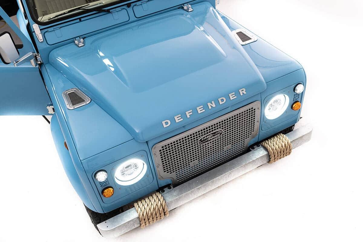 Helderburg Land Rover Defender D90 Exterior Detail