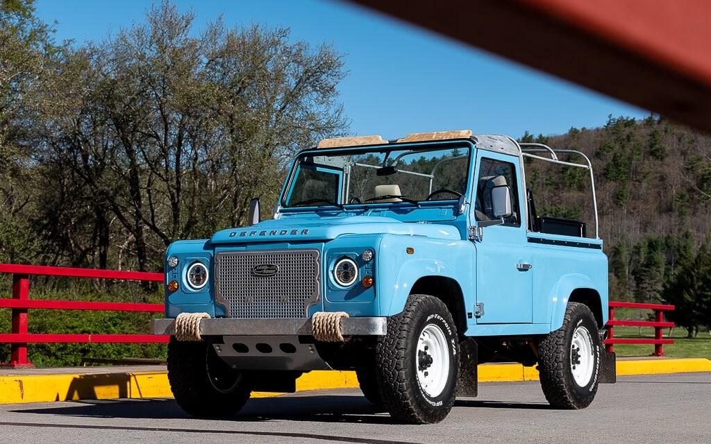 Helderburg Land Rover Defender D90 Exterior