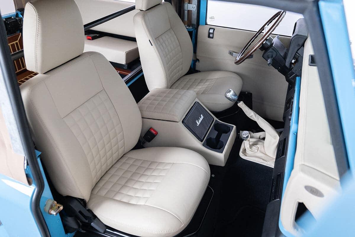 Helderburg Land Rover Defender D90 Bespoke Interior Detail
